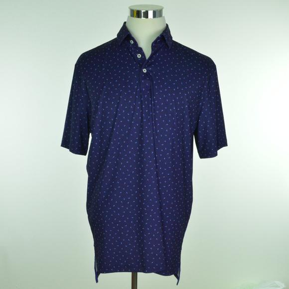 RLX Ralph Lauren Other - RLX GOLF Ralph Lauren Mens Polo Shirt Blue